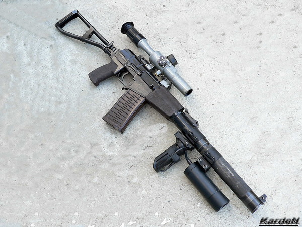 AS assault rifle special photo 8