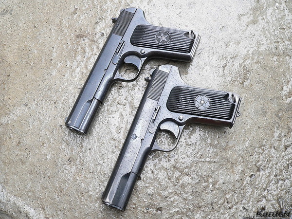 пистолет ТТ (Тульский, Токарев) фото 46