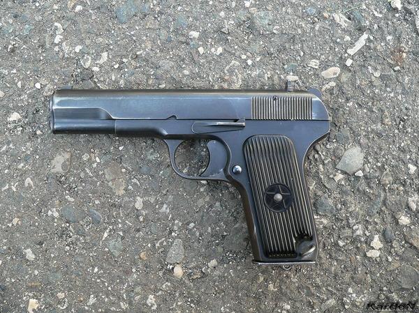 пистолет ТТ (Тульский, Токарев) фото 1