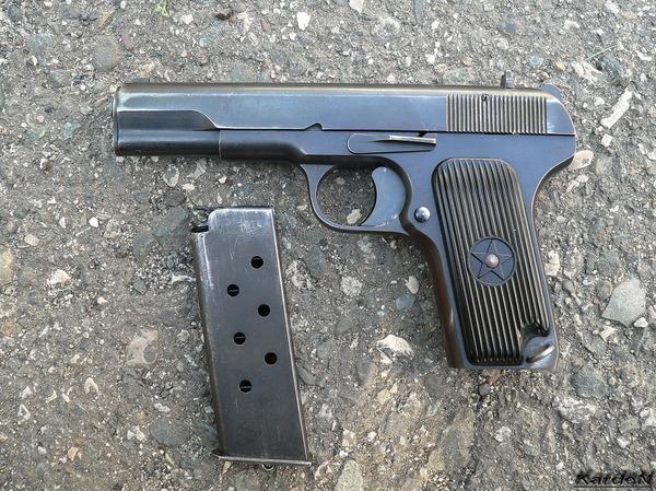 пистолет ТТ (Тульский, Токарев) фото 3