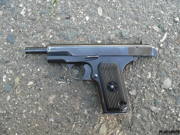 пистолет ТТ (Тульский, Токарев) фото 4