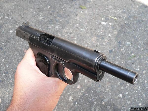 пистолет ТТ (Тульский, Токарев) фото 8