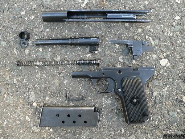 пистолет ТТ (Тульский, Токарев) фото 12