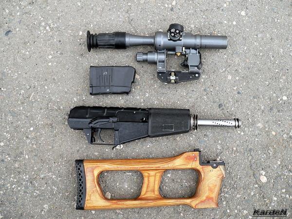 винтовка ВСС «Винторез» фото 53