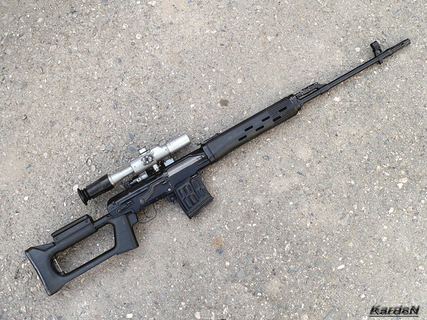 снайперская винтовка Драгунова - СВД фото 41
