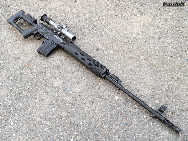 снайперская винтовка Драгунова - СВД фото 43