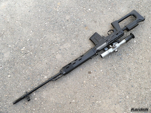 снайперская винтовка Драгунова - СВД фото 44