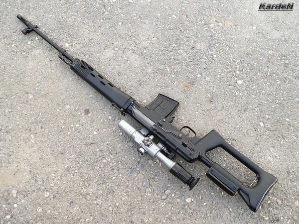снайперская винтовка Драгунова - СВД фото 45