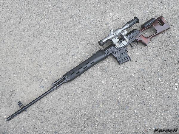 снайперская винтовка Драгунова - СВД фото 1