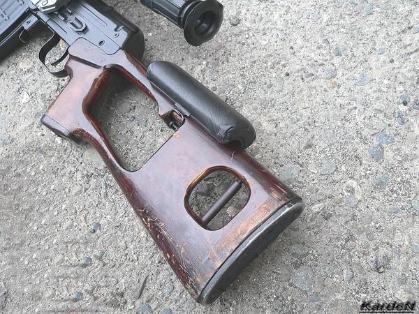 снайперская винтовка Драгунова - СВД фото 5