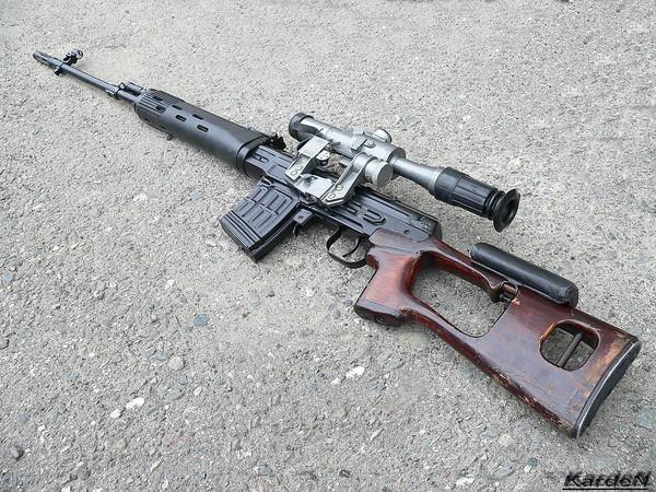 снайперская винтовка Драгунова - СВД фото 7