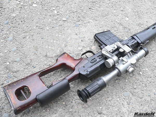 снайперская винтовка Драгунова - СВД фото 8