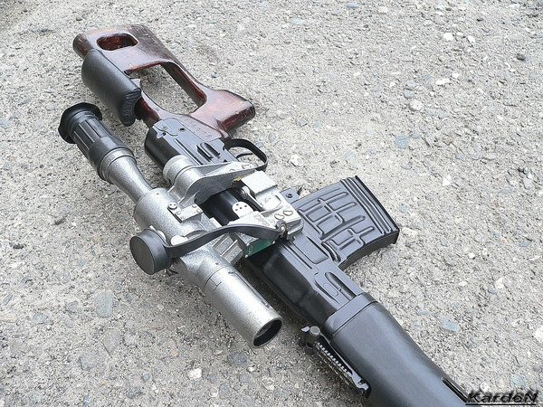 снайперская винтовка Драгунова - СВД фото 9