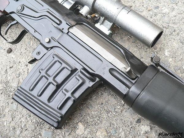 снайперская винтовка Драгунова - СВД фото 14