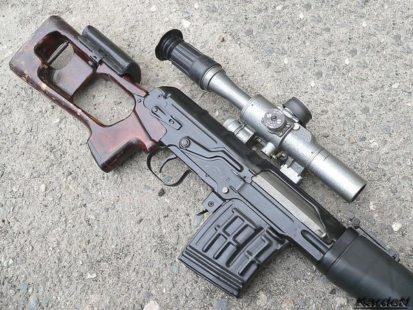 снайперская винтовка Драгунова - СВД фото 15