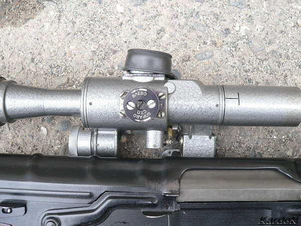 снайперская винтовка Драгунова - СВД фото 17