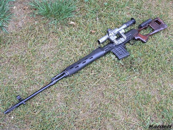 снайперская винтовка Драгунова - СВД фото 24
