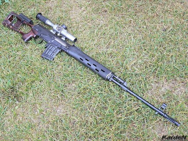 снайперская винтовка Драгунова - СВД фото 25