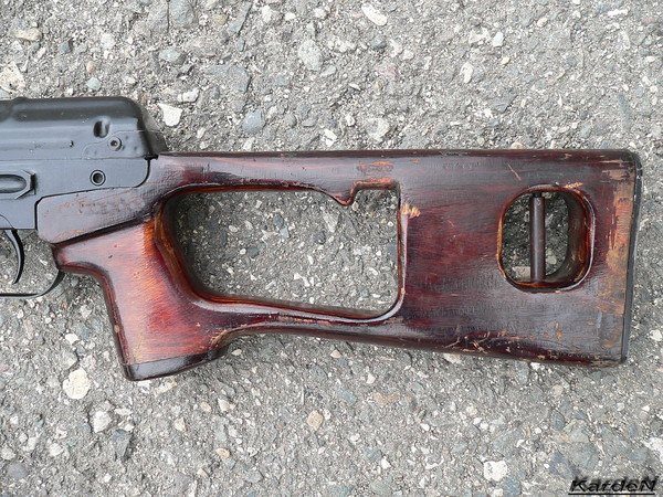 снайперская винтовка Драгунова - СВД фото 30