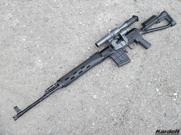 SVD-S dragunov sniper rifle photo 1
