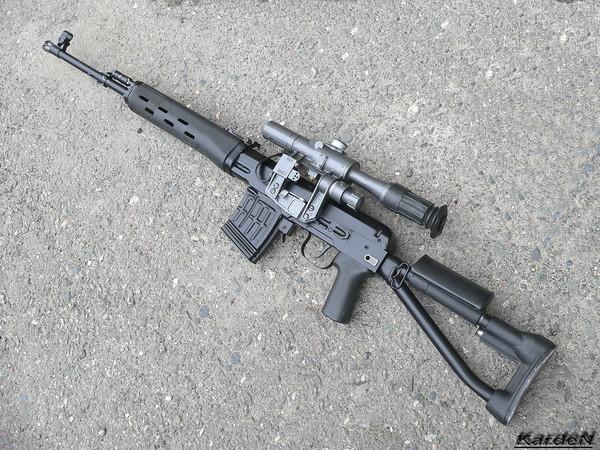 снайперская винтовка Драгунова - СВД-С фото 9