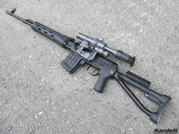 снайперская винтовка Драгунова - СВД-С фото 10