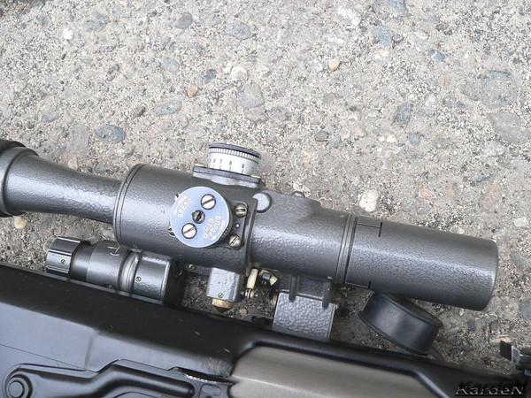 снайперская винтовка Драгунова - СВД-С фото 11