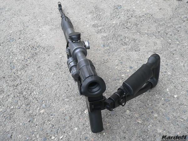 снайперская винтовка Драгунова - СВД-С фото 16