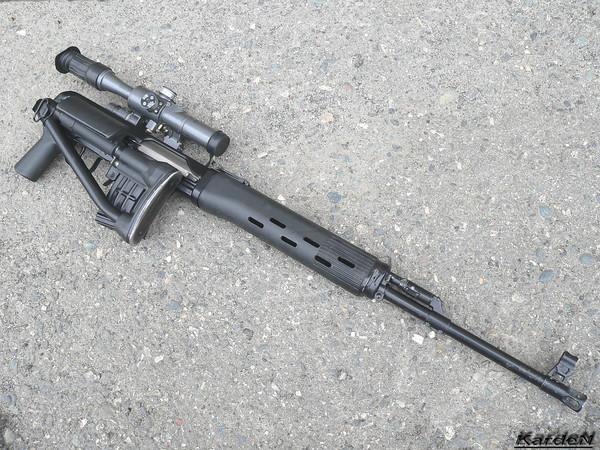 снайперская винтовка Драгунова - СВД-С фото 19