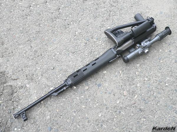 снайперская винтовка Драгунова - СВД-С фото 20