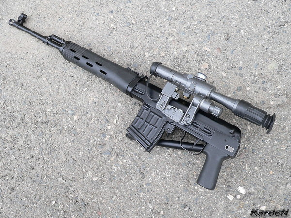 Снайперская винтовка Драгунова (складная) - СВД-С