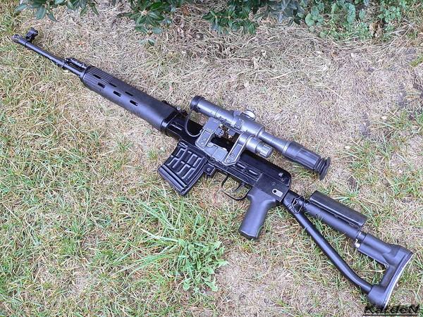 снайперская винтовка Драгунова - СВД-С фото 25