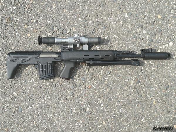 Снайперская винтовка укороченная - СВУ-АС фото 1