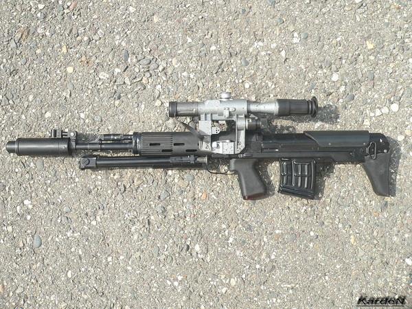 Снайперская винтовка укороченная - СВУ-АС фото 6