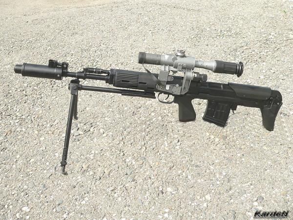 Снайперская винтовка укороченная - СВУ-АС фото 11