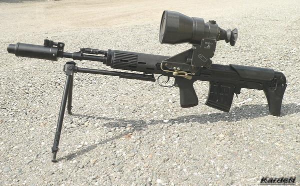Снайперская винтовка укороченная - СВУ-АС фото 16