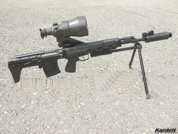 Снайперская винтовка укороченная - СВУ-АС фото 17