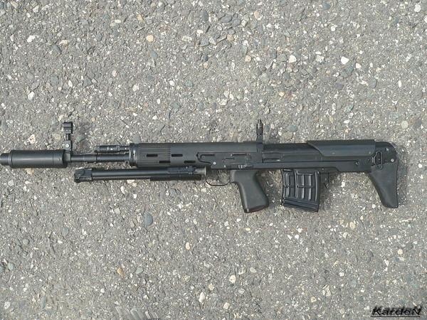 Снайперская винтовка укороченная - СВУ-АС фото 18