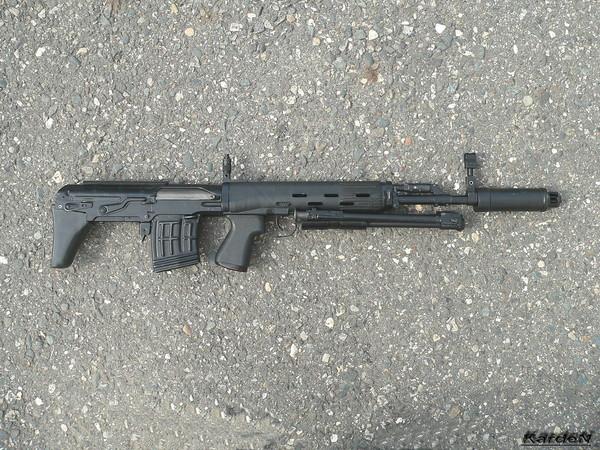 Снайперская винтовка укороченная - СВУ-АС фото 19