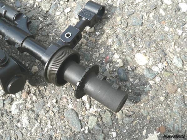 Снайперская винтовка укороченная - СВУ-АС фото 20
