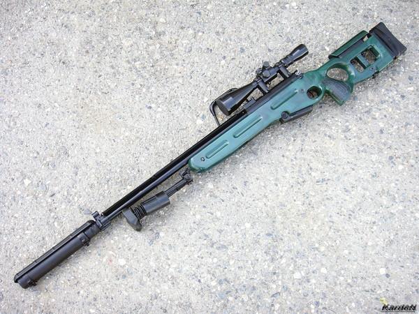 Снайперская винтовка СВ-98 фото 20
