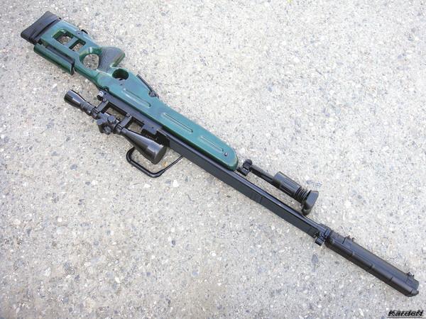 Снайперская винтовка СВ-98 фото 21