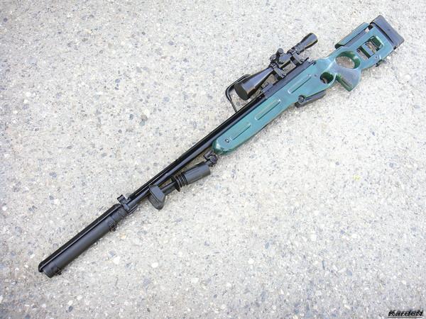 Снайперская винтовка СВ-98 фото 24