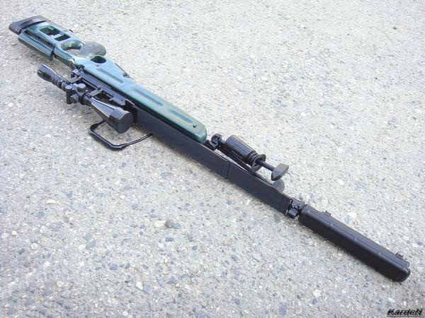 Снайперская винтовка СВ-98 фото 25