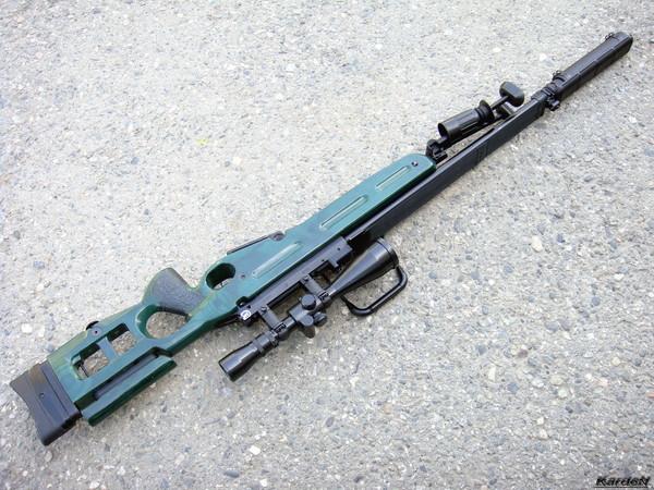 Снайперская винтовка СВ-98 фото 28
