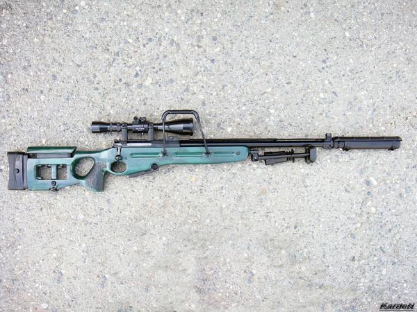 Снайперская винтовка СВ-98 фото 29