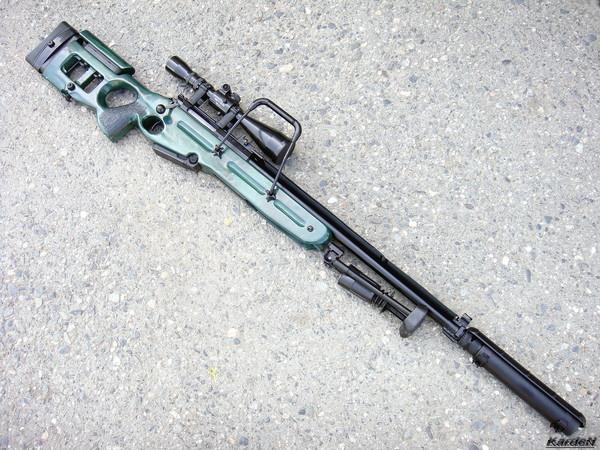 Снайперская винтовка СВ-98 фото 30