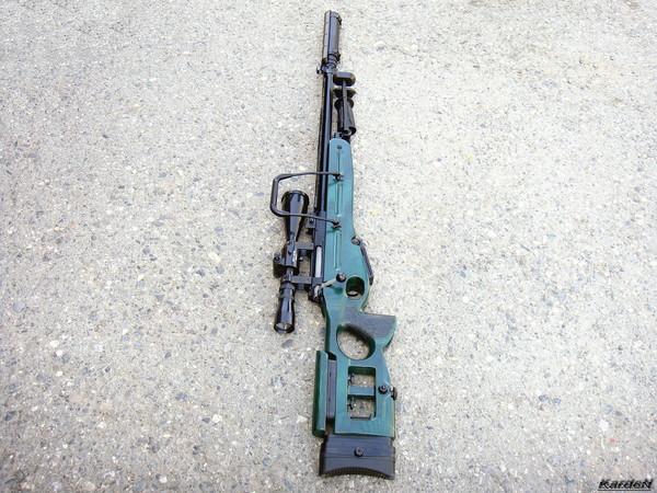 Снайперская винтовка СВ-98 фото 32