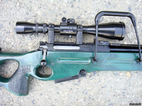 Снайперская винтовка СВ-98 фото 35