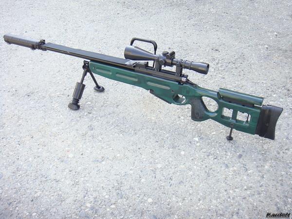 Снайперская винтовка СВ-98 фото 39